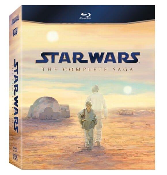 Boa notícia! Lucasfilm lançará a coleção completa de Star Wars em Blu-ray em Setembro.