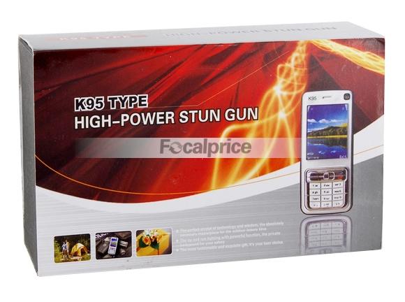 K95-Type Stun Gun - Um celular ou uma Arma de Eletrochoque? Os dois!