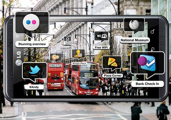 Optimus 3D da LG terá serviço de localização com objetos em 3D saindo da tela!