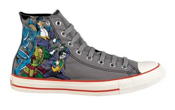 Batman Shoes Converse High Tops