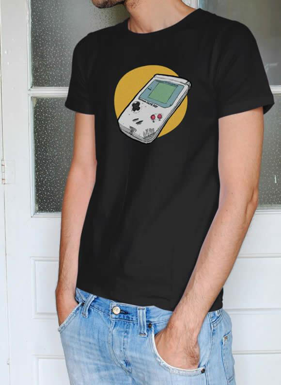Camiseta Game Boy para gamers de plantão.