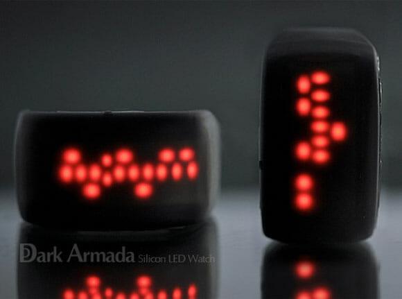 Relógio de pulso Dark Armada - Duvido que consiga ler as horas nele!