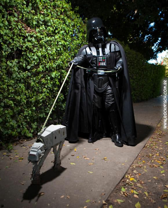 FOTOFUN - Passeando com o cachorro.