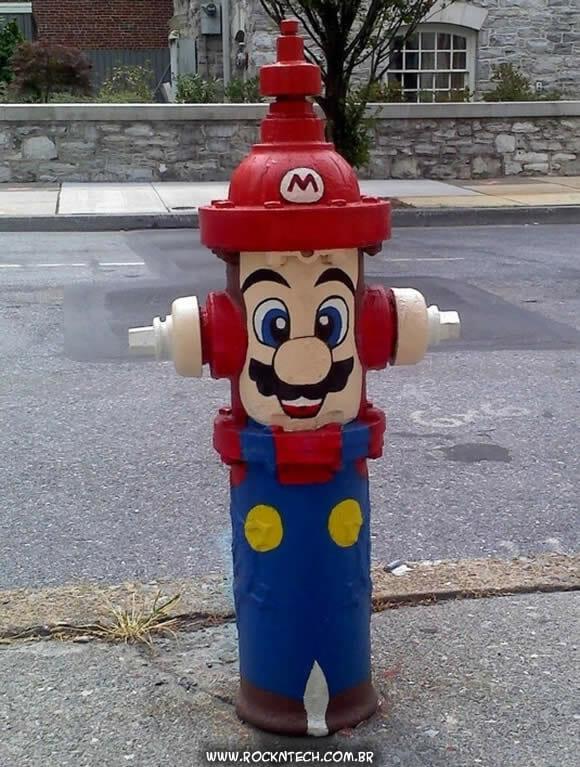 FOTOFUN - Super Hidrante Bros.