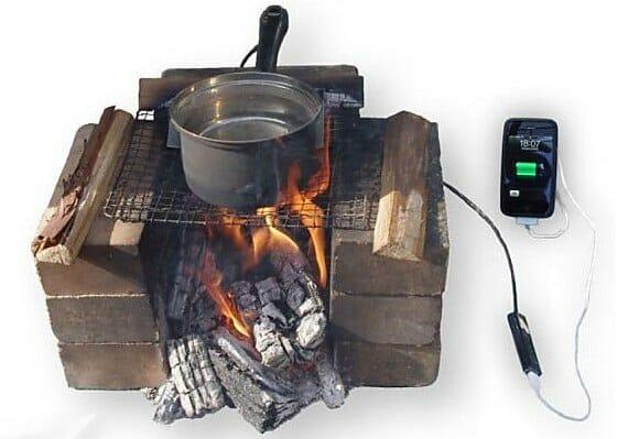 Uma panela especial para recarregar seu Celular ou Smartphone no fogão!