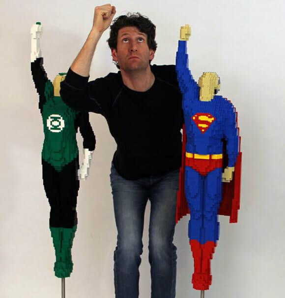 Super-Herói bom é super-herói de LEGO!