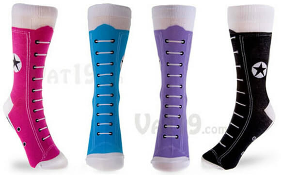 Hightop Sneaker Socks - As meias perfeitas para quem gosta de All Star!