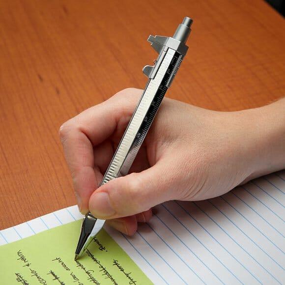Messograf - Uma caneta com função Paquímetro. (com vídeo)