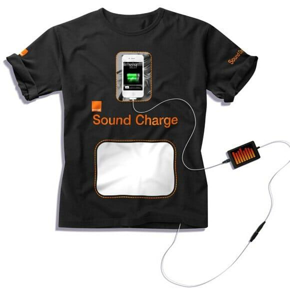 Recarregue a bateria dos seus gadgets através de ondas sonoras. What???