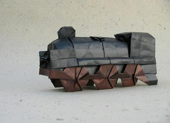 Origami: Difícil de fazer mas muito fácil de se admirar!