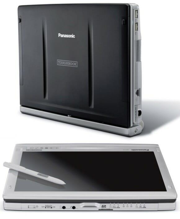 Panasonic Toughbook C1 - Um laptop e tablet (2 em 1) robusto com hardware atraente.