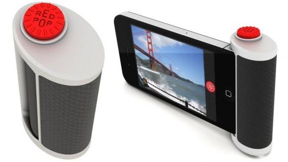 Acessório especial oferece um botão físico para capturar fotos no iPhone.