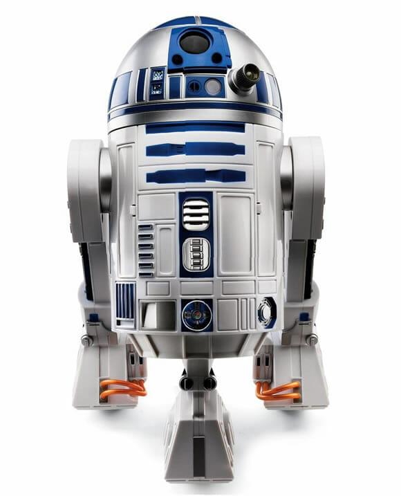 Um robô do R2-D2 que se movimenta e responde a comandos de voz! (com vídeo)