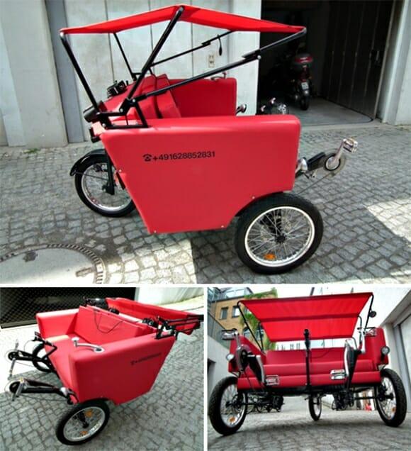 Bicicleta Sofá - A bicicleta mais confortável do mundo! (com vídeo)