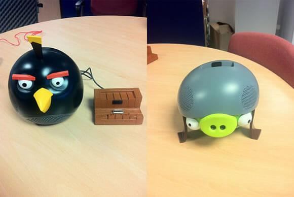 Vem aí os speakers do Angry Birds!