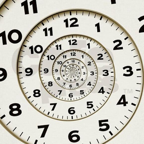 Spiral Clock - O relógio que confunde sua visão.