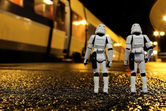 Novas cenas da vida secreta dos Stormtroopers