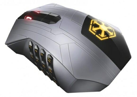 Novo mouse e teclado da Razer para gamers baseado no game Star Wars: The Old Republic.