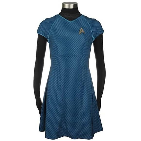 Vestido do Star Trek - Última moda para garotas geeks.