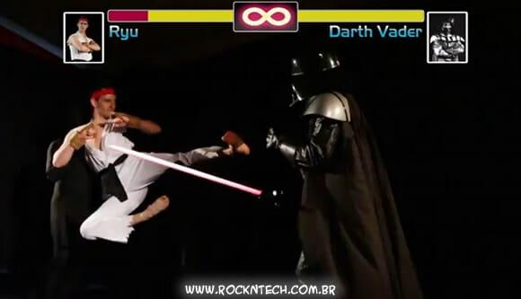 VIDEOFUN - Ryu vs Darth Vader. Quem vence?