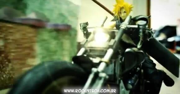 VIDEOFUN - Stop Motion Final Fantasy VII. Fantástico!