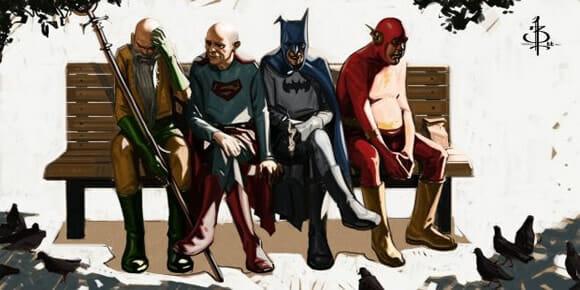 Geek arte do dia: Fomos heróis.