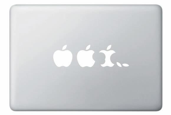 Adesivo Apple Evolution para Macbooks e iPads é criativo!