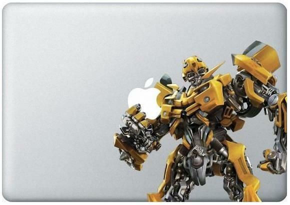 Turbine seu Macbook com adesivos dos Transformers!