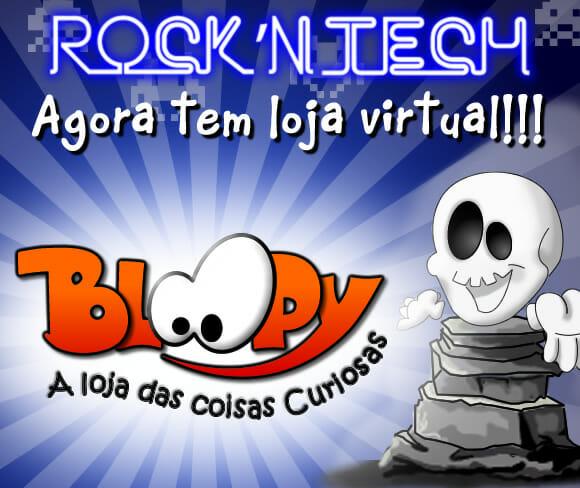 ROCK'N TECH agora tem uma loja Virtual feita especialmente para geeks! Iiiiiiuuuuupiiiiii!!! :D