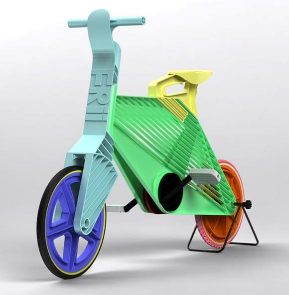 Frii Bike - Uma bike leve e resistente porém feita inteiramente de plástico.