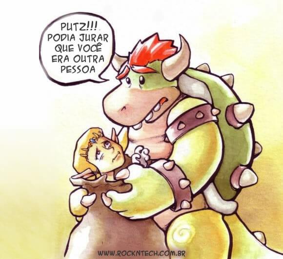 FOTOFUN - Era para ser a Peach, não a Zelda...