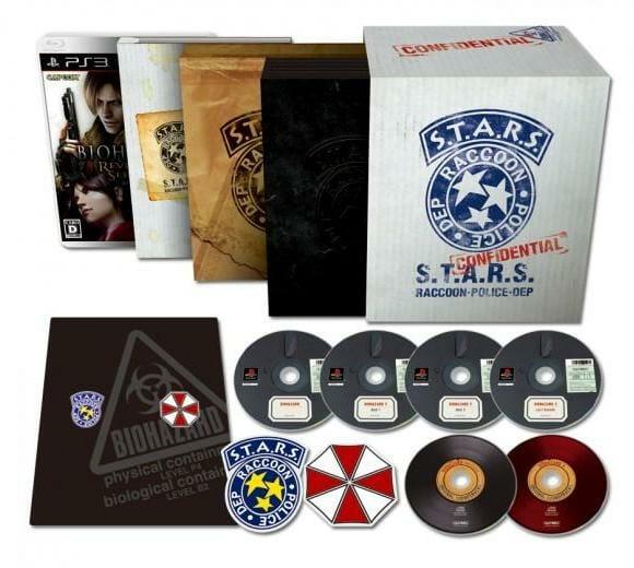 Resident Evil completa 15 anos e os fãs ganham um Box Especial comemorativo.