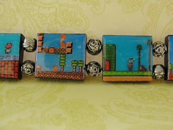 Moda geek: Bracelete do Super Mario