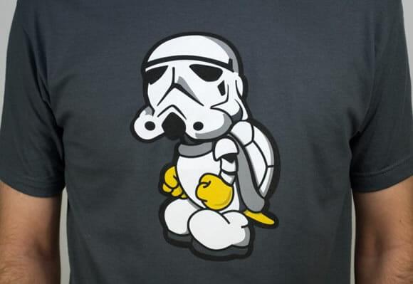 Você conhece o Stormtroopa? Já tem até camiseta dele!