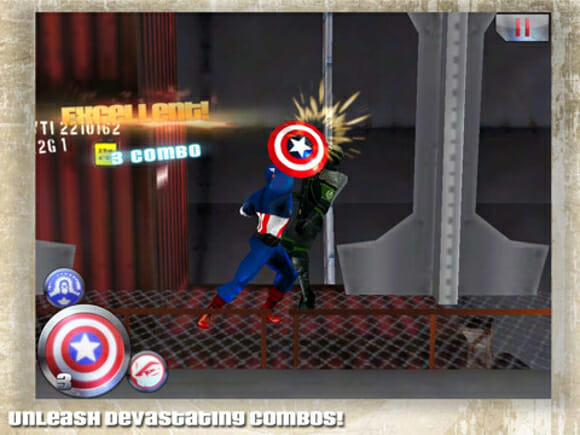 REVIEW - Captain America - Sentinel of Liberty para iOS e Android.