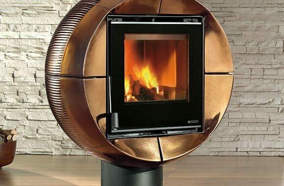 Carillon Fireball - Uma lareira portátil para aquecer qualquer cômodo da casa.