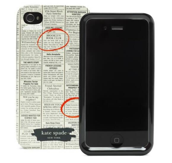 Proteja seu iPhone com um case inspirado em classificados de jornais!