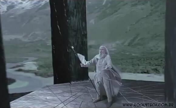 VIDEOFUN - Revelada cena cortada do filme Senhor dos Anéis.