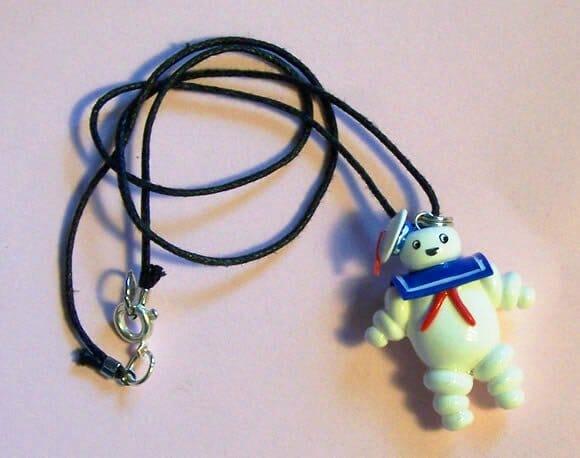Moda geek: Colar do Homem de Marshmallow Stay Puft!