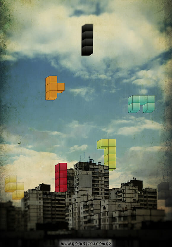 FOTOFUN - Tetris City.