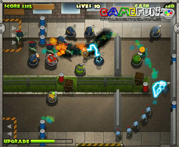 GAMEFUN - Zombie Defense Agency