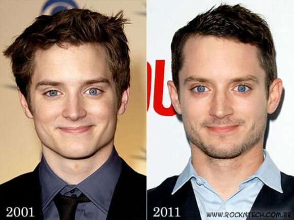 Hobbits não envelhecem.