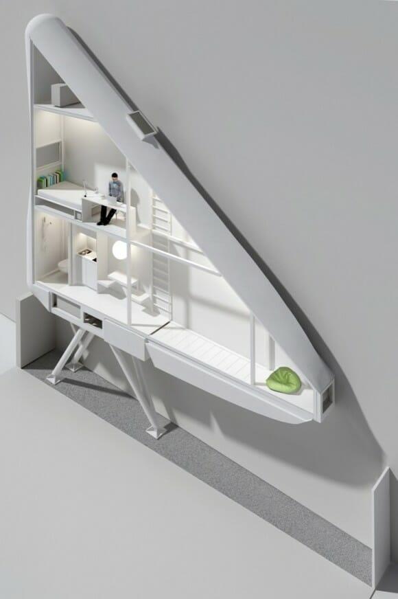 Já imaginou morar em uma casa com apenas 1,2 m de largura? Acredite, é possível!