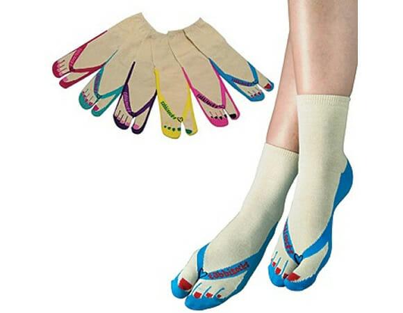 Flip Flop Socks - Meias chinelo para usar com chinelo!
