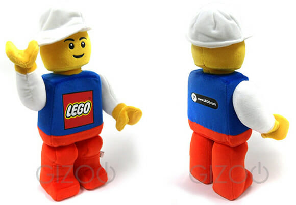 O famoso minifigure de LEGO virou boneco de pelúcia!