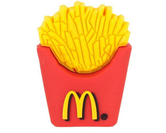 Um pen drive para os viciados em McDonald' s!