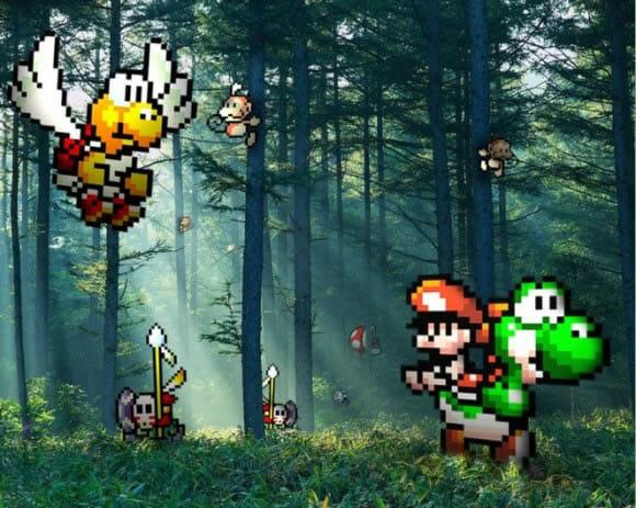 Personagens do mundo dos games invadiram nosso mundo! - Parte II.