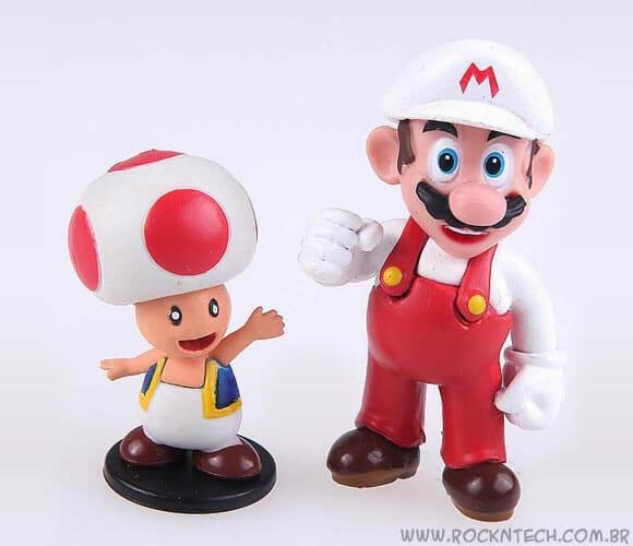 Resultado da Promoção Mini Figures Super Mario - Parte 2.