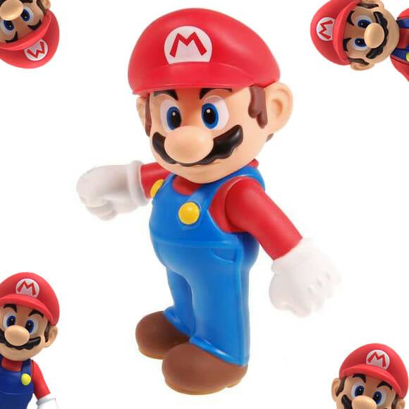 Promoção Super Mario - Parte 4. Ganhe 1 Action Figure do Super Mario!