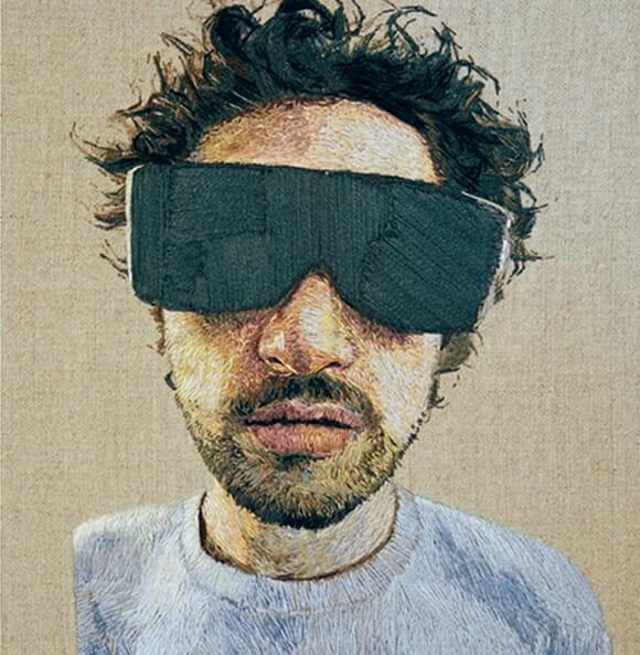 Retratos Bordados de Daniel Kornrumpf 4